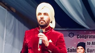 Kanth Kaler   Live Mahaan Sant Sammelan in ldh song pani uthe pathra nu tarda live