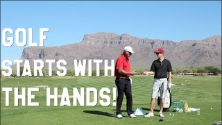 how to grip golf