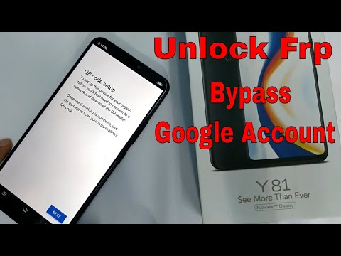 VIVO Y81 1808 FRP BYPASS -Fast And Easy