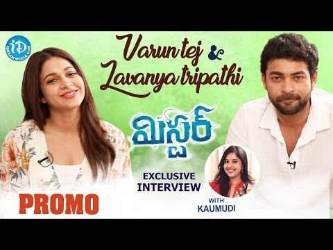Varun Tej & Lavanya Tripathi Exclusive Interview PROMO | #Mister | Talking Movies With iDream