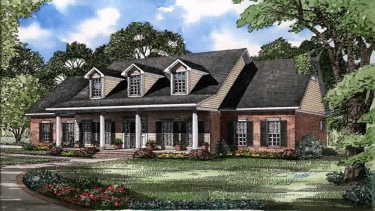 Traditional Cape Cod Style House Plans YouTube - Colonial cape cod style house plans