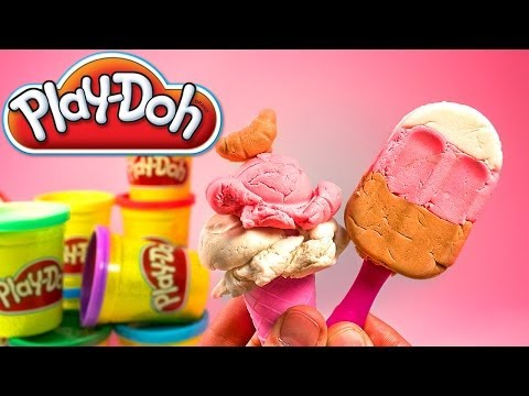 Ice cream Play Doh playset playdough by Unboxingsurpriseegg