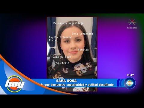¿Qué nos dice el lenguaje corporal de Sara Sosa?   Grafofest   Hoy
