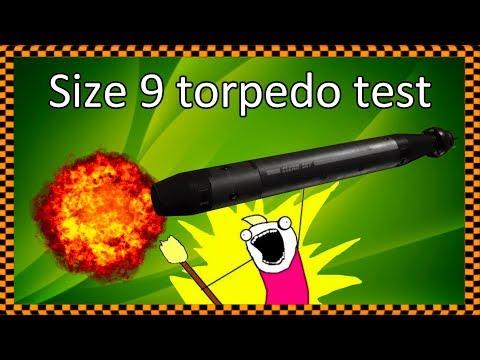 3.6.0 PTU Size 9 Torpedo Tests - 600i, Hammerhead ...