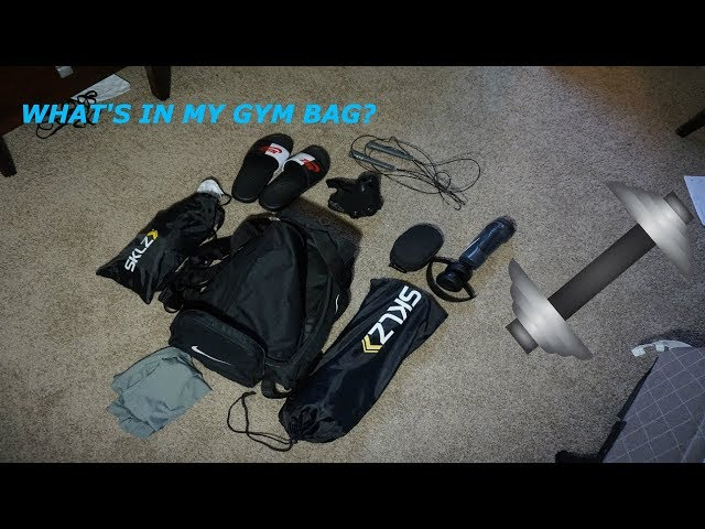 Whats in my Gym Bag? **2018**