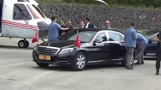 Cumhurbaşkanı Erdoğan Ovit Tüneli'nde İncelemelerde Bulundu