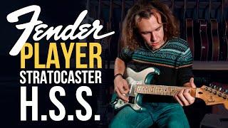 Fender Player Strat HSS. Универсальный стратокастер | gitaraclub.ru