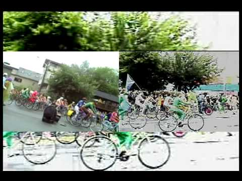 01. 2011 FREMONT SOLSTICE FAIR - PAINTED CYCLISTS.avi