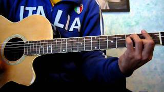 Tablatura de Odiame bunbury cover guitarra y how to play  Licenciado Cantinas thumbnail
