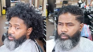 MUST SEE | GAMECHANGING TRANSFORMATION | FULL  BARBER TUTORIAL