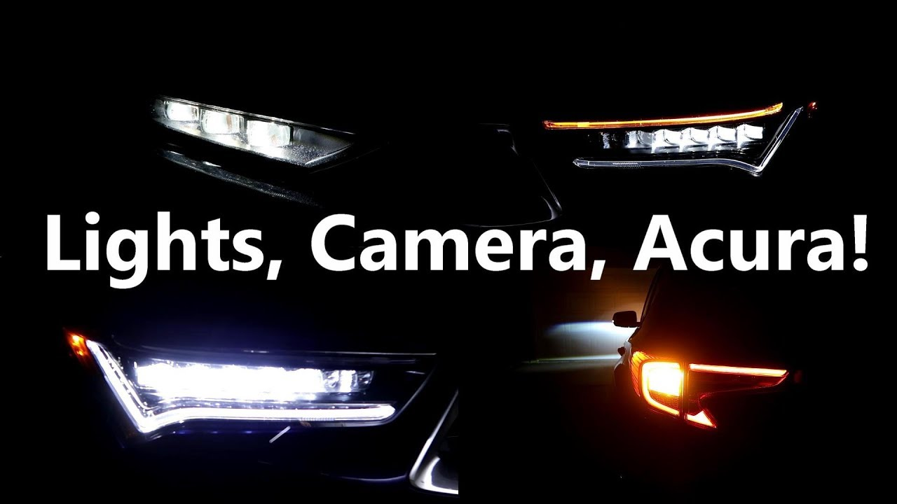 2019 Acura Rdx Lights And Cameras At Night An Owners View Youtube