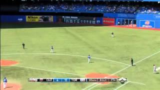 2012/07/14 Loup's MLB debut