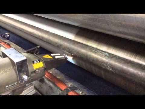 clean LASER Africa cleaning Corrugated Press