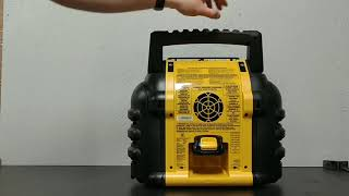 DeWalt Mr Heater Buddy Heater Unboxing/Initial Impressions