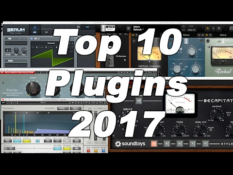 D'Loy Show #5- Top 10 Audio Mixing, Mastering and Production Plugins for 2017