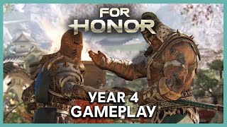 For Honor: Year 4 Gameplay and New Battle Pass | Ubisoft [NA]