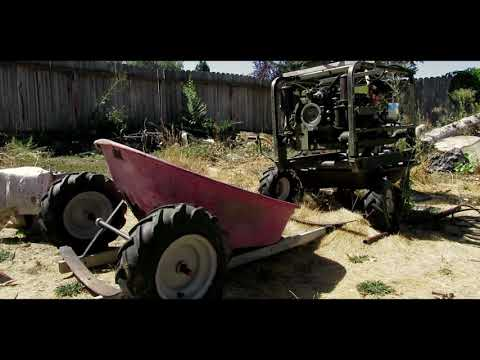 Hot Rod Wheelbarrow Go Kart - Part 1