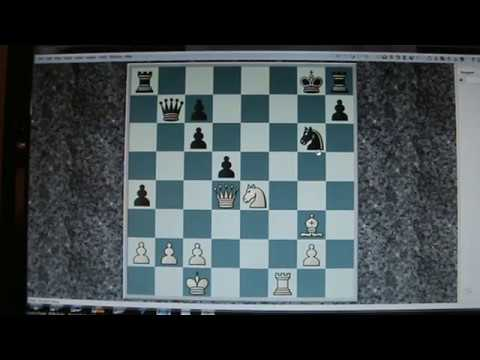 """Chess Coach Session 27 November 2017. A """"Simple"""" Position If Such A Thing? with NZer David Weegenaar"""