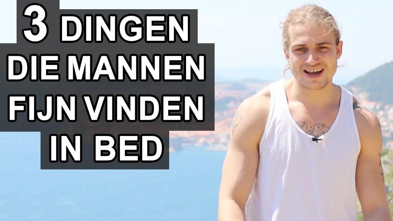wat vinden mannen fijn in bed