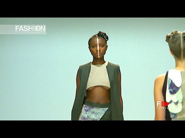 JESSICA SHUTTLEWORTH Spring Summer 2017 SAFW - Fashion Channel