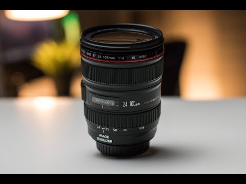 Canon 24-105mm f/4 IS USM L  Review and Photo/Video Test 2019