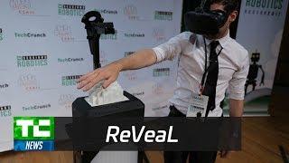 ReVeal robot at TC Sessions: Robotics