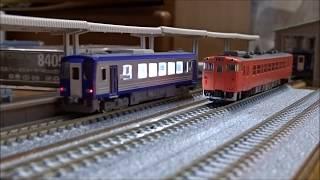 【鉄道模型】TOMIXキハ120系(関西線色)@走行シーン