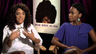 Dear White People Interview with TessaThompson & Teyonah Parris