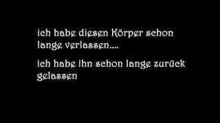 Amy Macdonald - Left That Body Long Ago (German Lyrics)