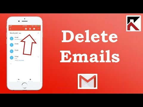 How To Delete Emails Gmail iPhone