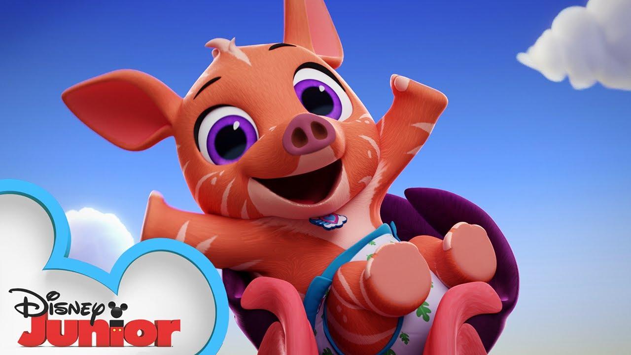 Tara The Tapir Profile T O T S Disney Junior Youtube