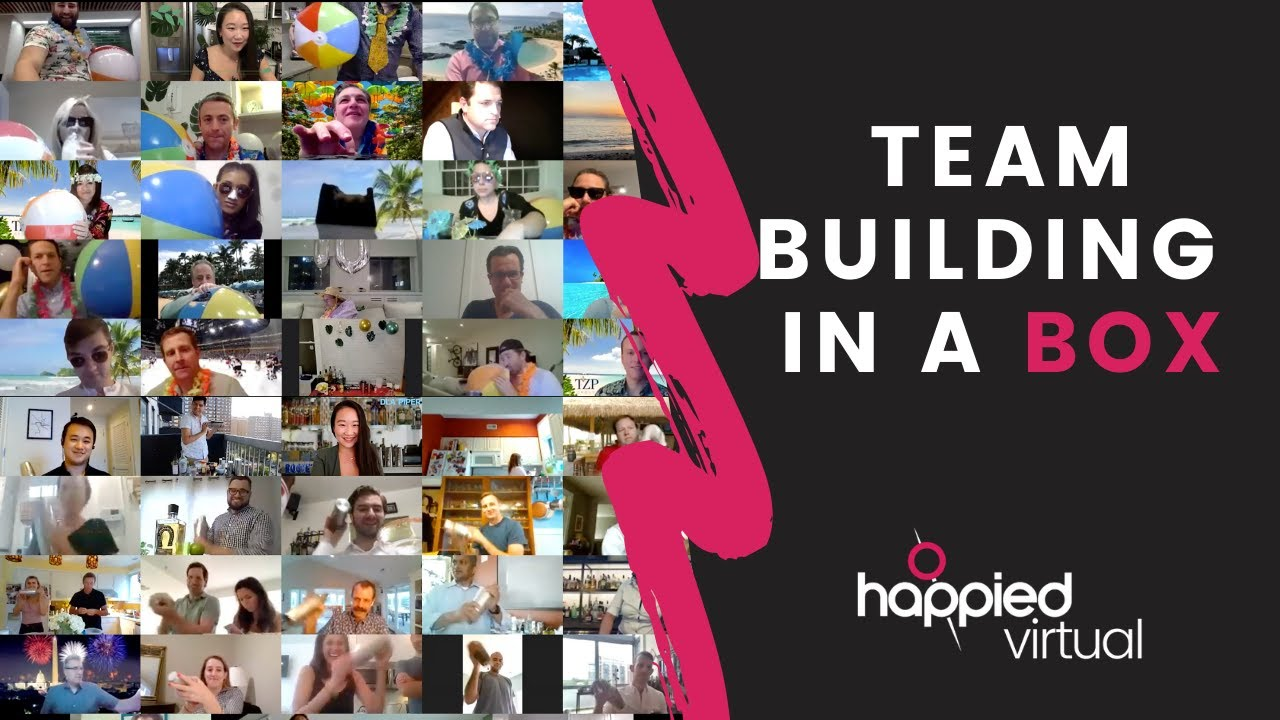 Happied Virtual in Action: Team Building in a Box!