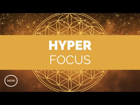 Hyper Focus - Super Concentration Booster - Lambda Monaural Beats