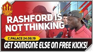 Rashford Awful Today Manchester United 1-2 Crystal Palace Fancams