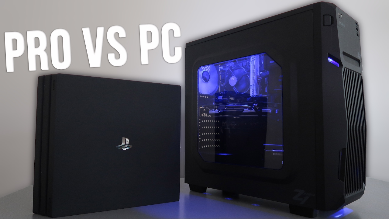 ps4 pro vs 400 budget gaming pc 4k w benchmarks youtube. Black Bedroom Furniture Sets. Home Design Ideas