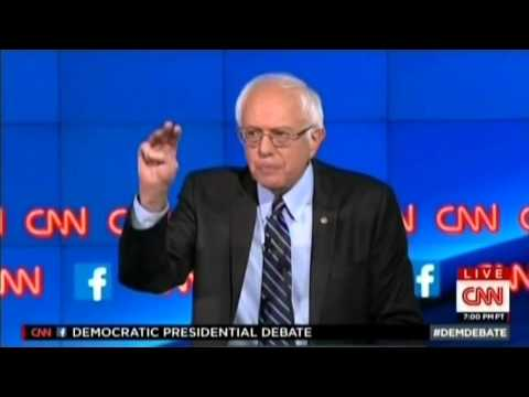 2015 Dem Debate - Hillary Clinton rejects Glass Steagall like an idiot.