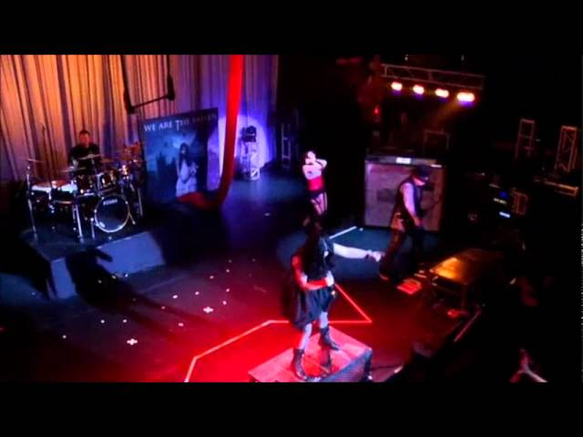 2. Burn - We Are The Fallen (live at Cirque Des Damnes) Travel Video