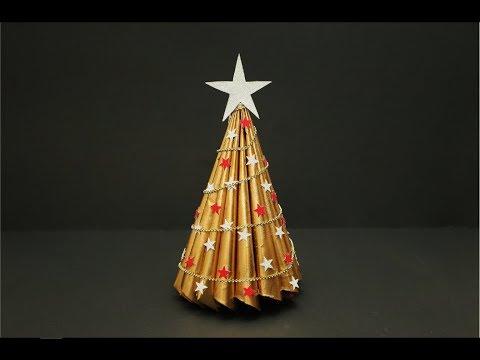 DIY- Book Folding Christmas Tree | Recycled Christmas Tree | Christmas Decor