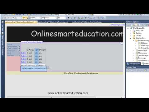 C# Tutorials in Tamil Part 71 Edit Records Part - 1