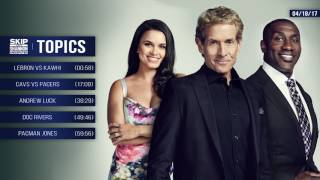 UNDISPUTED Audio Podcast (4.18.17) with Skip Bayless, Shannon Sharpe, Joy Taylor | UNDISPUTED