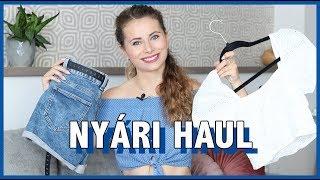 Nyári HAUL - H&M, C&A, Tally Weijl | Viszkok Fruzsi