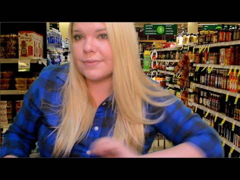Grocery and Food Store Role Play - ASMR Relaxation