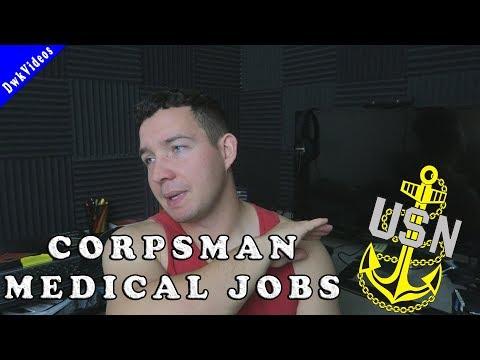 NAVY JOBS Corpsman - All 36 Types?!