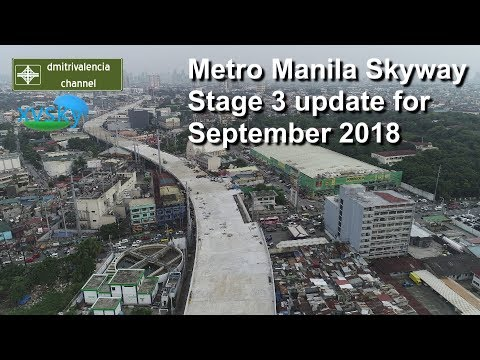 Metro Manila Skyway Stage 3 update for September 2018 (55A)