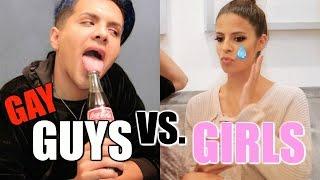 GAY GUYS VS GIRLS  | RELATIONSHIPS