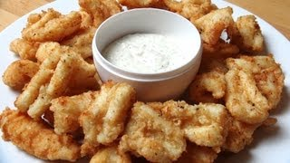 Salt and Pepper Squid | One Pot Chef