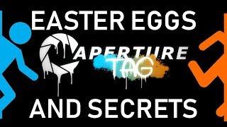 Portal Aperture Tag Easter Eggs And Secrets