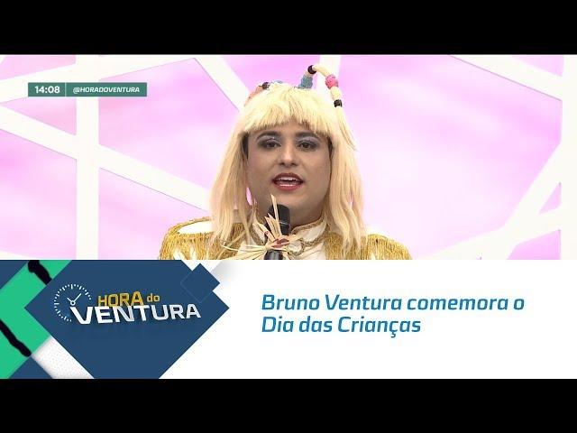Bruno Ventura comemora o Dia das Crianças junto com convidados! - Bloco 01