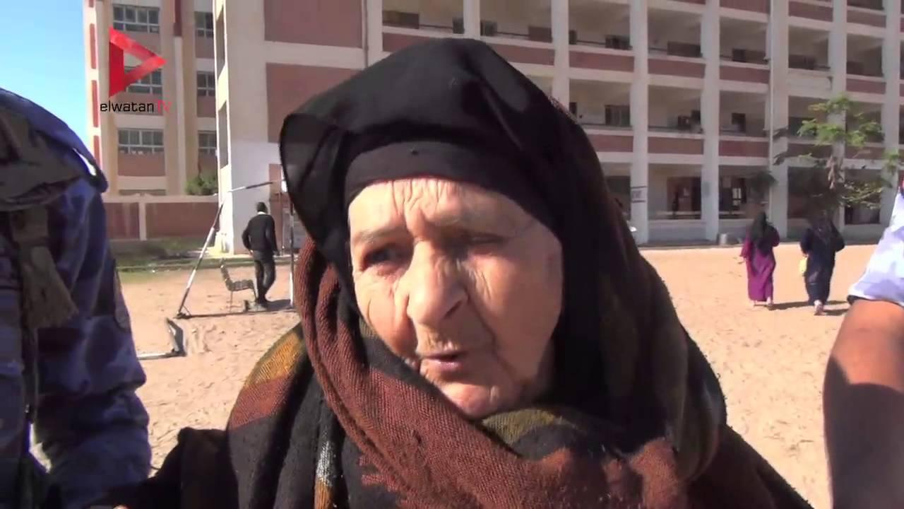 الوطن المصرية: مسنة ٨٥ عاما بعد الإدلاء بصوتها في بلطيم: