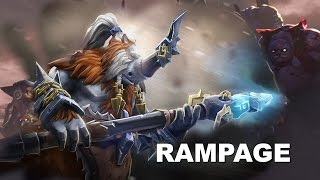 Dota 2 - Best Moments #10 - RAMPAGE Happening!